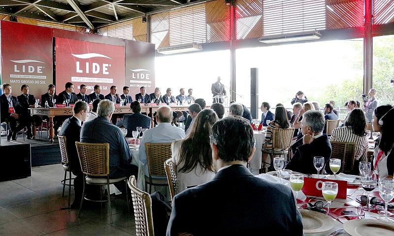 Evento Lide: Almoço- debate Brasil China